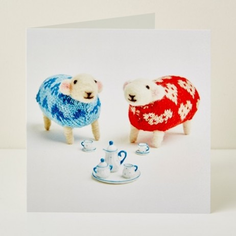 Mary Kilvert - Time for Tea Greeting Card