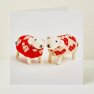 Mary Kilvert - I Love Ewe Greeting Card