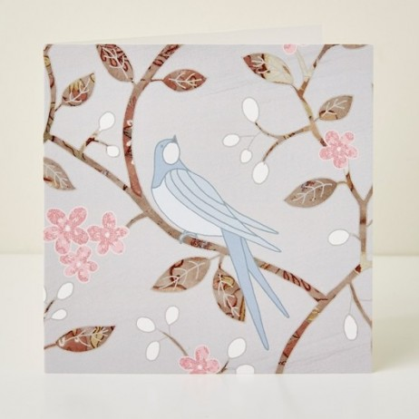Mary Kilvert - Swallow Greeting Card
