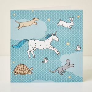 Mary Kilvert - Magic Animals Greeting Card