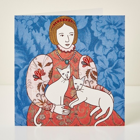 Mary Kilvert - Queen Victoria Greeting Card