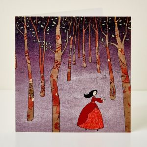 Mary Kilvert - Lost in the Wood Greeting Card