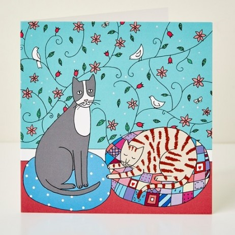 Mary Kilvert - Bella & Pixie Greeting Card