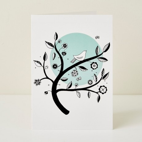 Mary Kilvert - Blue Moon Greeting Card