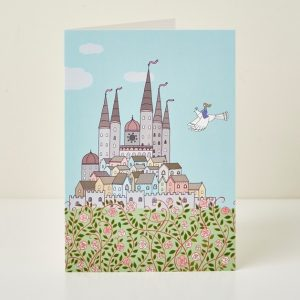 Mary Kilvert - Sleeping Beauty Greeting Card