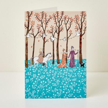 Mary Kilvert - Magic Wood Greeting Card