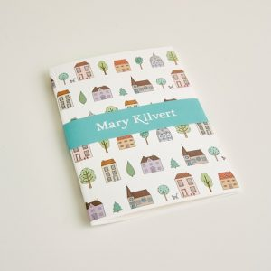Mary Kilvert - Small Town Houses Pattern Notebook