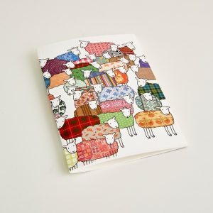 Mary Kilvert - Small Colourful Sheep Notebook