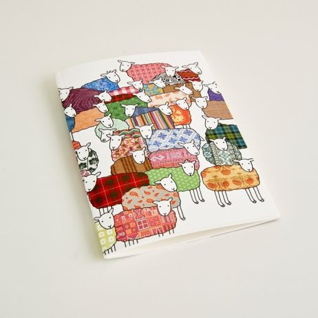 Small Colourful Sheep Notebook