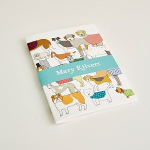 Mary Kilvert - Small Pack of Proud Pooches Notebook