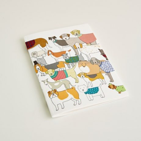 Small Pack of Proud Pooches Notebook