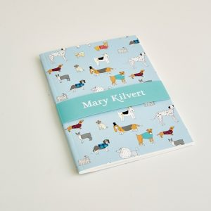 Mary Kilvert - Small Dog Pattern Notebook