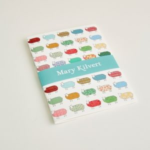 Mary Kilvert - Small Sheep Pattern Notebook