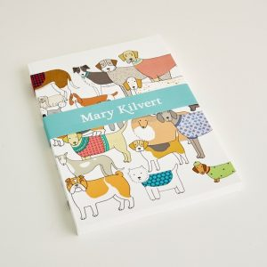 Mary Kilvert - Large Pack of Proud Pooches Notebook