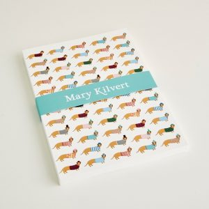 Mary Kilvert - Large Long Dog Notebook