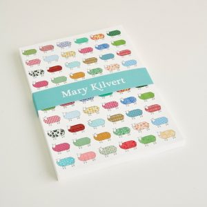 Mary Kilvert - Large Sheep Pattern Notebook