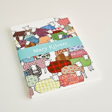 Large Colourful Sheep Notebook
