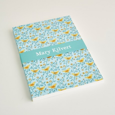 Large Folk Birds Notebook