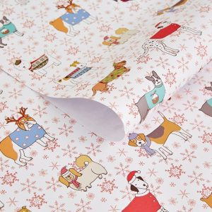 Christmas Canines Gift Wrap