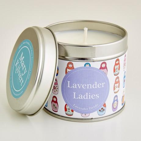 Mary Kilvert - Lavender Ladies Candle