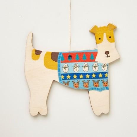 Mary Kilvert - fox terrier decoration