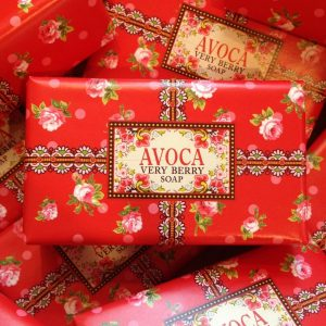 Avoca Very Berry Soap
