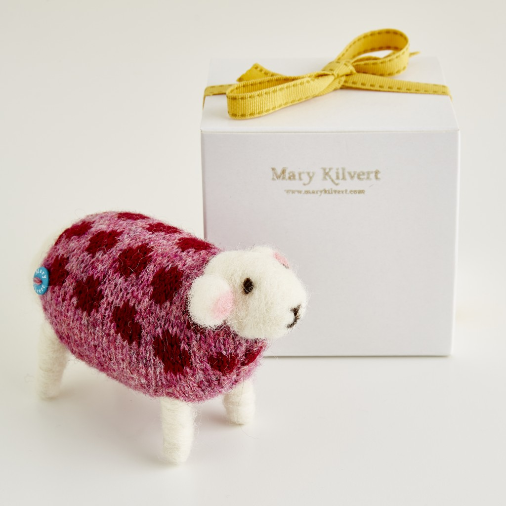 Mary Kilvert - Cranberry the sheep