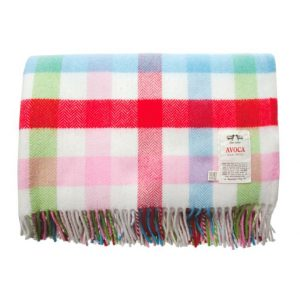 Avoca - Baby Bunting Blue Baby Blanket