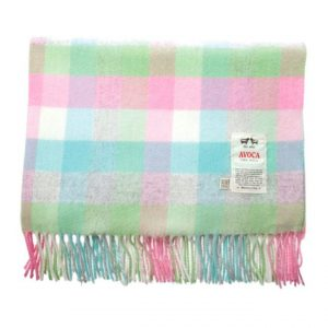 Avoca - Baby Bunting Pink Baby Blanket