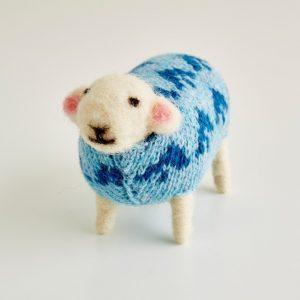 Mary Kilvert - Bluebell Felted Sheep