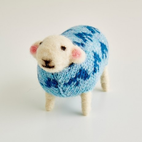 Mary Kilvert - Bluebell Felted Sheep