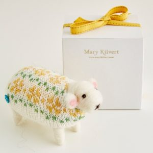 Mary Kilvert - Primrose Felted Sheep