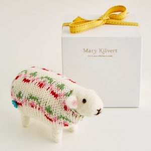 Mary Kilvert - Sweet Pea Felted Sheep