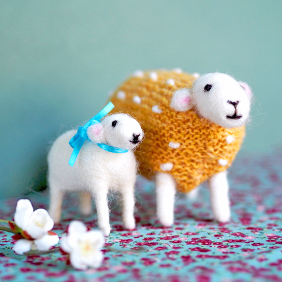 Mary Kilvert - Buttercup and lamb