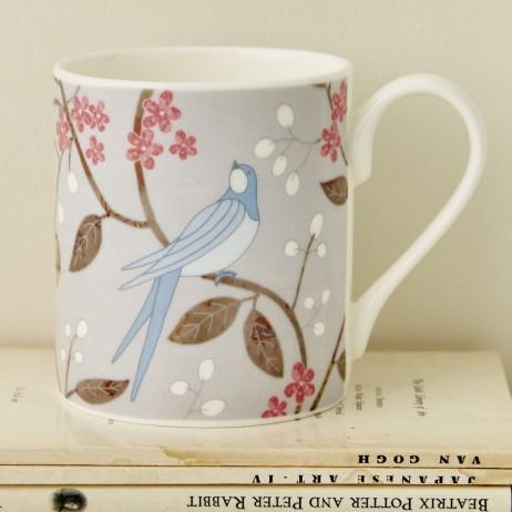 Mary Kilvert - Swallows mug