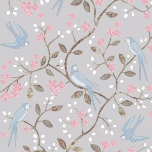 Mary Kilvert - Swallows wallpaper