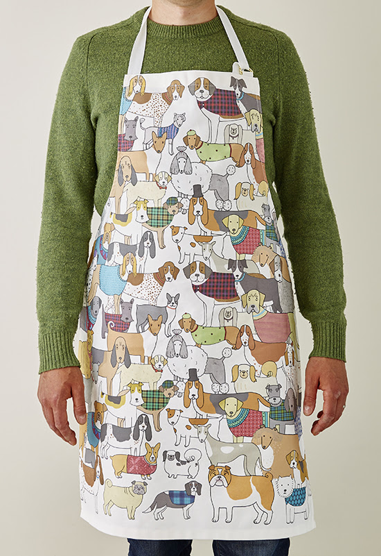 Mary Kilvert - Pack of Proud Pooches Apron