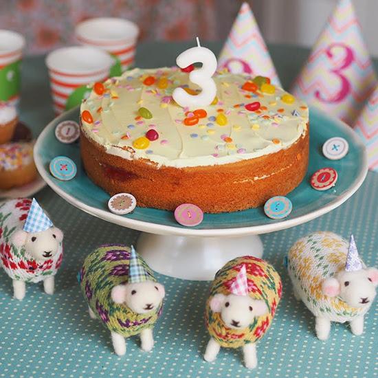 Mary Kilvert - 3rd birthday cake