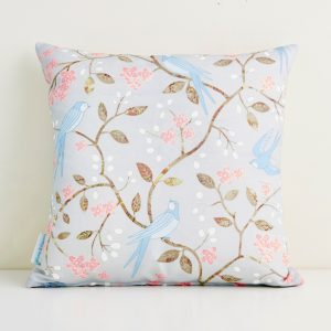 Swallows Cushion - Mary Kilvert