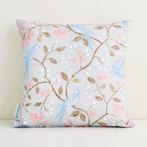 Swallows Cushion - Mary Kilvert