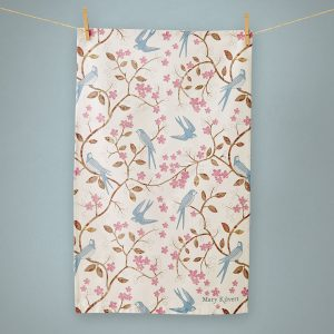 Swallows tea towel - Mary Kilvert