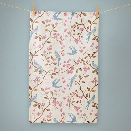 Swallows tea towel - Mary Kilvert