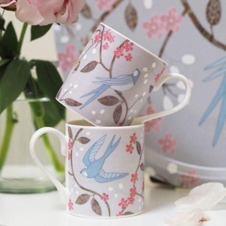 Swallows Mugs - Mary Kilvert