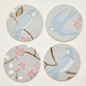 Swallows Coasters - Mary Kilvert