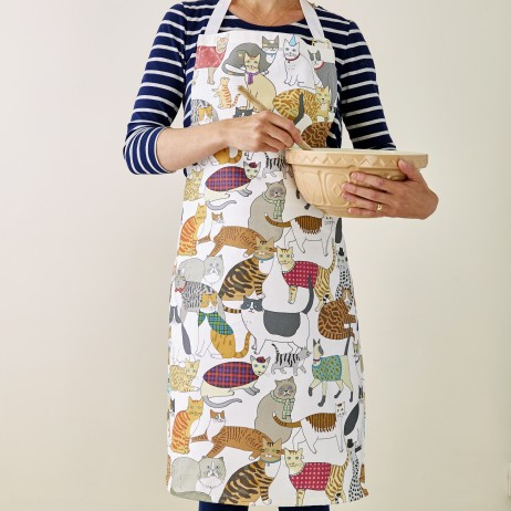 Crafty Cats Apron - Mary Kilvert