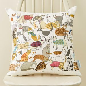 Crafty Cats Cushion