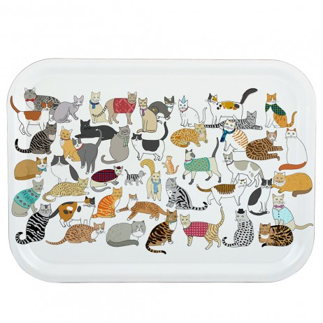 Crafty Cats Tray