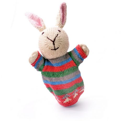 Rabbit Cotton Hand Puppet