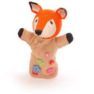 Fox Cotton Hand Puppet
