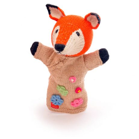 Fox Cotton Hand Puppet